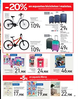 Ofertas de Bicicletas  en el folleto de Carrefour en Barcelona