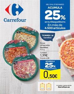 Ofertas de Pizza congelada  en el folleto de Carrefour en Ponferrada