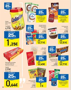 Ofertas de Nocilla  en el folleto de Carrefour en Ponferrada