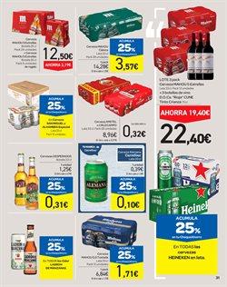 Ofertas de Cruzcampo  en el folleto de Carrefour en Ponferrada