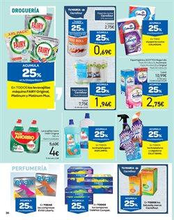 Ofertas de Tampax  en el folleto de Carrefour en Ponferrada