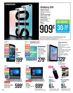 Ofertas de Teléfono inalámbrico  en el folleto de Carrefour en Ponferrada