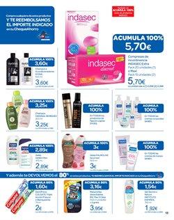 Ofertas de Compresas  en el folleto de Carrefour en Bilbao