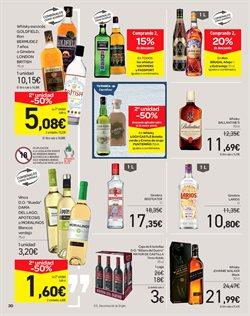 Ofertas de Ginebra  en el folleto de Carrefour en Bilbao