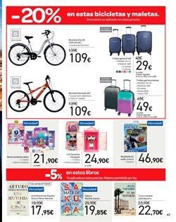 Ofertas de Bicicletas  en el folleto de Carrefour en Oviedo