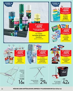 Ofertas de Spontex  en el folleto de Carrefour en Sevilla