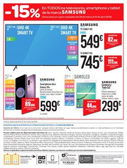 Ofertas de Televisores  en el folleto de Carrefour en San Sebastián de los Reyes