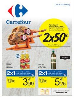 Ofertas de Carrefour  en el folleto de Manresa