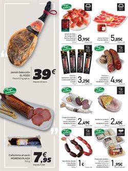 Ofertas de Jamón serrano  en el folleto de Carrefour en Algeciras