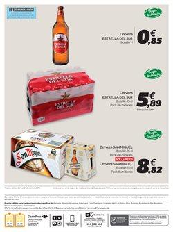 Ofertas de Cerveza  en el folleto de Carrefour en Granada