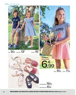 Ofertas de Zapatos niña  en el folleto de Carrefour en Terrassa
