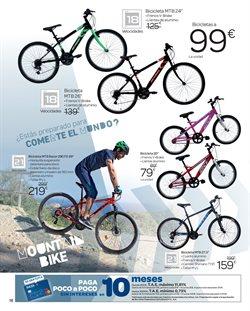 Ofertas de Bicicletas  en el folleto de Carrefour en El Puerto De Santa María