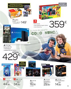 Ofertas de Juegos PS4  en el folleto de Carrefour en Madrid