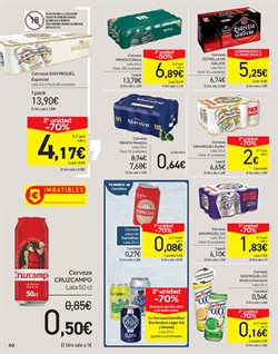 Ofertas de Cruzcampo  en el folleto de Carrefour en Jerez de la Frontera