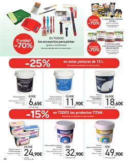 Ofertas de Pintura  en el folleto de Carrefour en Sevilla