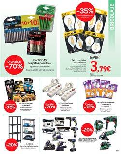 Ofertas de Duracell  en el folleto de Carrefour en Madrid