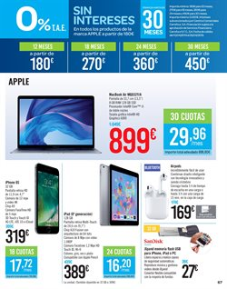 Ofertas de IPhone 6  en el folleto de Carrefour en Madrid