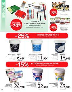 Ofertas de Pintura  en el folleto de Carrefour en Telde