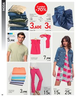 Ofertas de Camiseta mujer  en el folleto de Carrefour en Telde