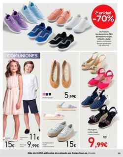 Ofertas de Zapatos mujer  en el folleto de Carrefour en Xirivella