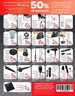 Ofertas de Báscula de baño  en el folleto de Carrefour en Elda