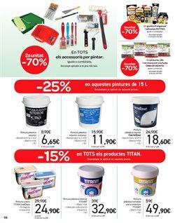 Ofertas de Pintura  en el folleto de Carrefour en Lleida