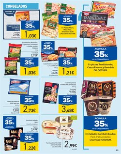 Ofertas de Pizza congelada  en el folleto de Carrefour en León