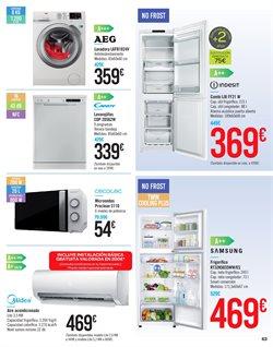 Ofertas de Electrodomésticos  en el folleto de Carrefour en Alicante