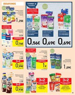 Ofertas de Puleva  en el folleto de Carrefour en Leganés