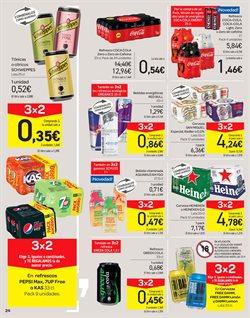 Ofertas de Cerveza sin alcohol  en el folleto de Carrefour en Málaga