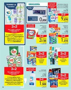 Ofertas de Productos de limpieza  en el folleto de Carrefour en Telde