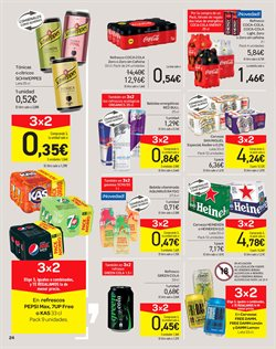 Ofertas de Coca-Cola  en el folleto de Carrefour en Granada