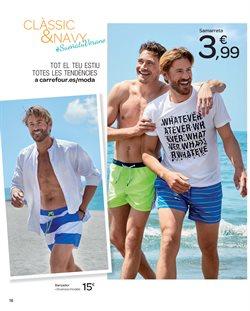 Ofertas de Camiseta hombre  en el folleto de Carrefour en Barcelona