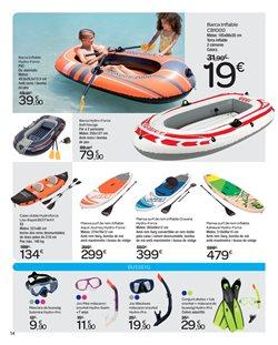 Ofertas de Kayak  en el folleto de Carrefour en Barcelona