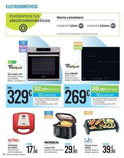 Ofertas de Horno eléctrico  en el folleto de Carrefour en Madrid