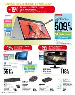 Ofertas de Teclado  en el folleto de Carrefour en Santa Lucía de Tirajana