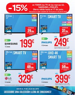 Ofertas de Smart tv  en el folleto de Carrefour en Alcorcón