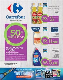 Ofertas de Aceite de oliva  en el folleto de Carrefour en Vecindario