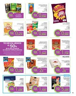 Ofertas de Helados  en el folleto de Carrefour en San Cristobal de la Laguna (Tenerife)