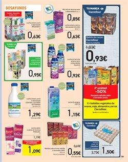 Ofertas de Pascual  en el folleto de Carrefour en San Cristobal de la Laguna (Tenerife)
