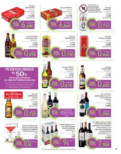 Ofertas de Latas de cerveza  en el folleto de Carrefour en Pamplona