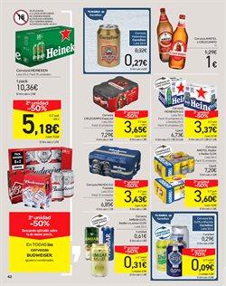 Ofertas de Cerveza  en el folleto de Carrefour en Velez