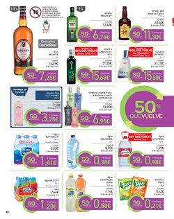 Ofertas de Agua  en el folleto de Carrefour en El Ejido