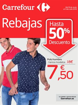 Ofertas de Polo hombre  en el folleto de Carrefour en Madrid