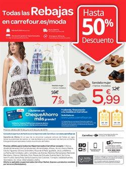 Ofertas de Vestidos  en el folleto de Carrefour en Jerez de la Frontera