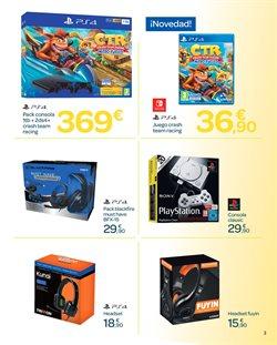 Ofertas de PS4  en el folleto de Carrefour en El Ejido