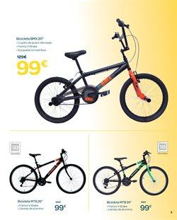 Ofertas de Bicicletas  en el folleto de Carrefour en San Cristobal de la Laguna (Tenerife)