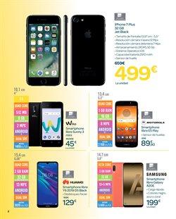Ofertas de Smartphones  en el folleto de Carrefour en Sevilla
