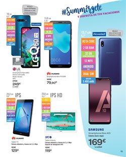 Ofertas de Smartphones libres  en el folleto de Carrefour en Madrid