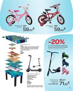 Ofertas de Bicicletas  en el folleto de Carrefour en El Ejido